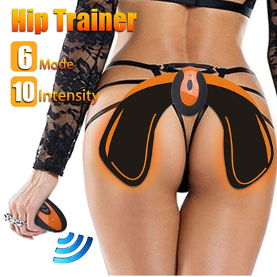 Remote USB Wireless EMS Hip Trainer Muscle Lifting Buttocks