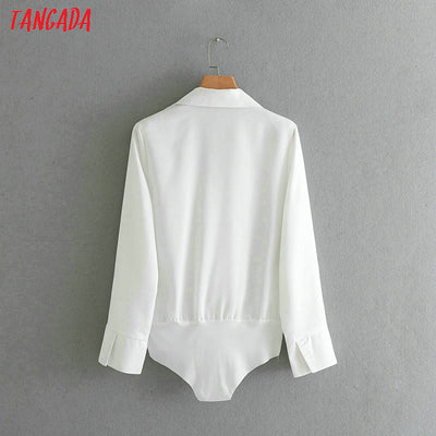 Fashion Women black white  Blouse Sexy