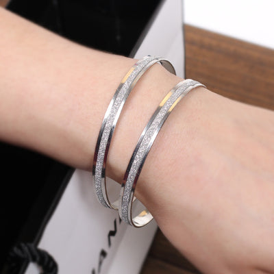 Bracelets Charms Rose Gold Silver