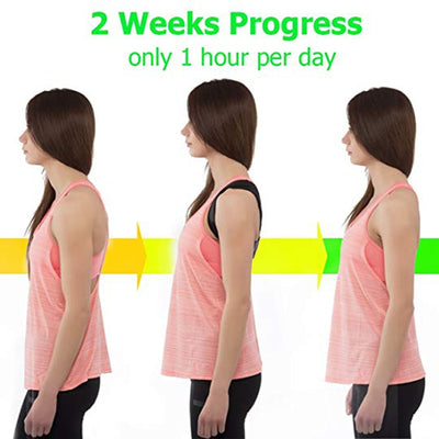Brace Support Belt Adjustable Back Posture Corrector Clavicle Spine