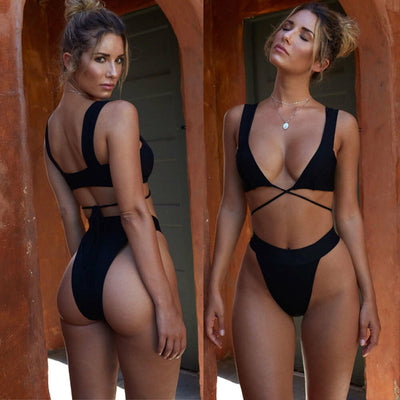 Bikini Set Swimsuit Triangle Swimwear Bathing