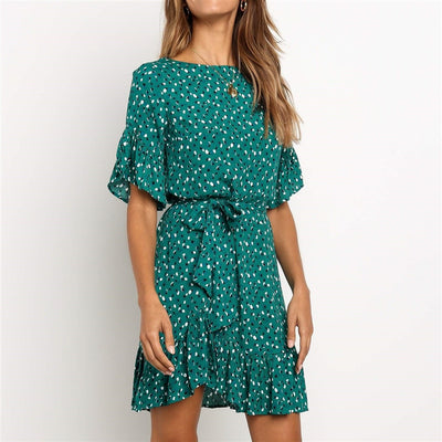 Summer Chiffon Dress Women 2019