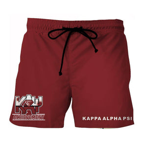 Kappa Alpha Psi Fraternity Beach Shorts
