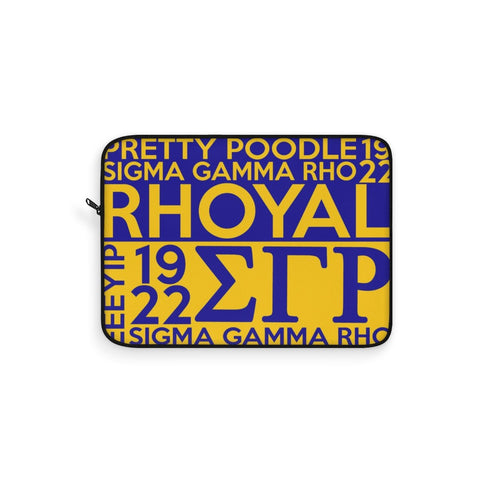 Sigma Gamma Rho Laptop Sleeve