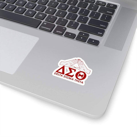 Delta Sigma Theta Waterproof Stickers