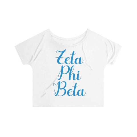 Zeta Phi Beta Slouchy Top