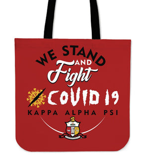 Kappa Alpha Psi We Stand and Fight COVID -19 Tote