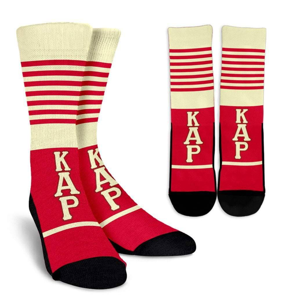Kappa Alpha Psi Fraternity Crew Socks
