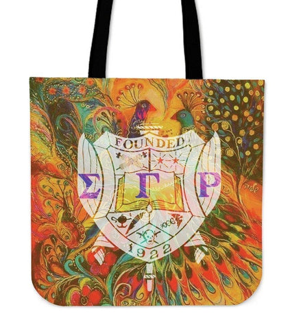 Image of Sigma Gamma Rho Tote Bags - Unique Greek Store