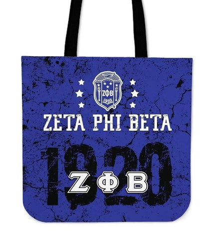 Image of Zeta Phi Beta Founding Year Tote Bags - Unique Greek Store