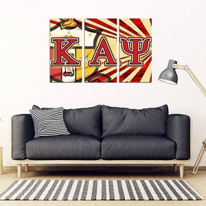 Kappa Alpha Psi 3 Piece Wall Art - Unique Greek Store