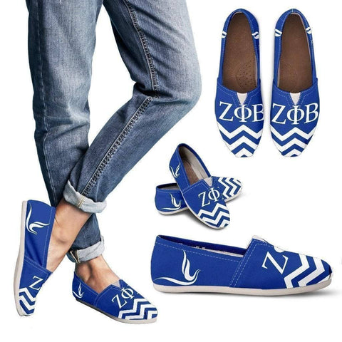 Zeta Phi Beta Toms Shoes - Unique Greek Store