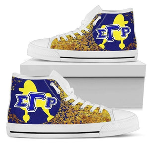 Sigma Gamma Rho Women's High Top Shoes - Unique Greek Store