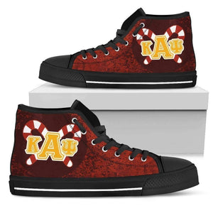 Kappa Alpha Psi Men's High-top Sneakers - Unique Greek Store