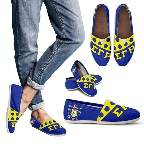 Sigma Gamma Rho Toms Shoes - Unique Greek Store