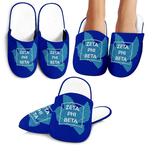 Zeta Phi Beta Bedroom Slippers