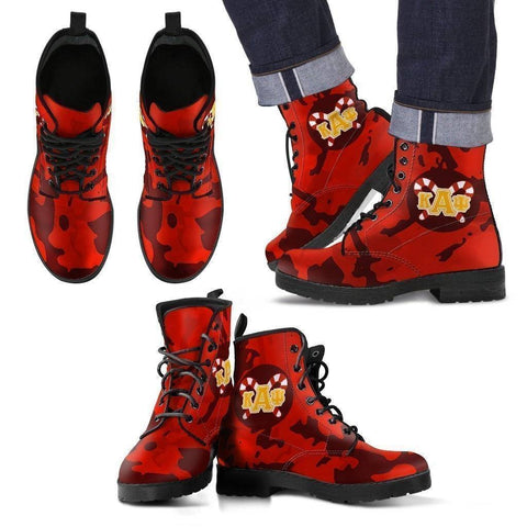 Kappa Alpha Psi Leather Boots - Unique Greek Store