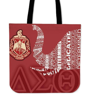 Delta Sigma Theta Tote Bag - Unique Greek Store