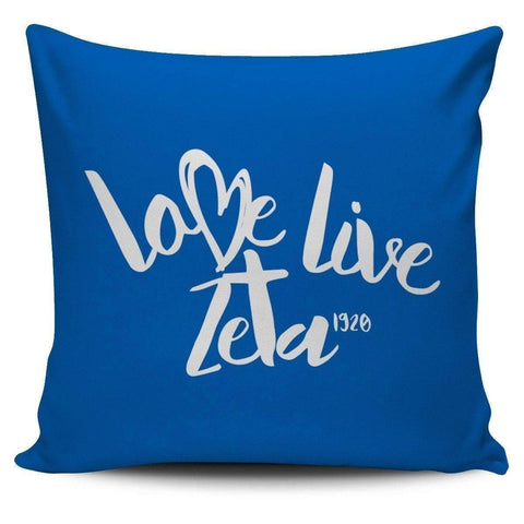 Image of Zeta Phi Beta Pillow Covers - Unique Greek Store
