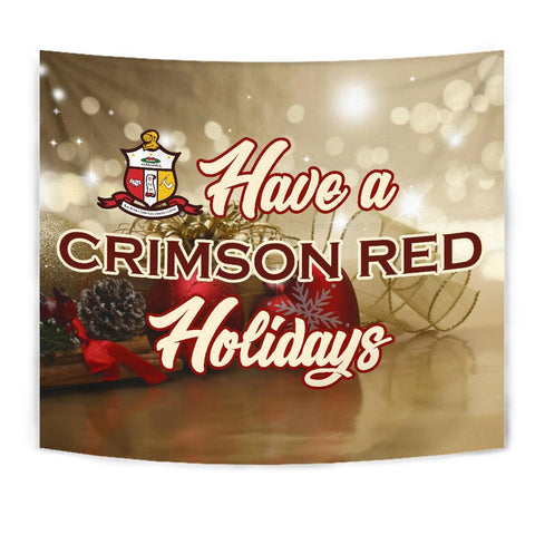 Kappa Alpha Psi Christmas Holidays Tapestry