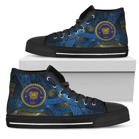 Image of Women's Sigma Gamma Rho High Top Shoes - Unique Greek Store
