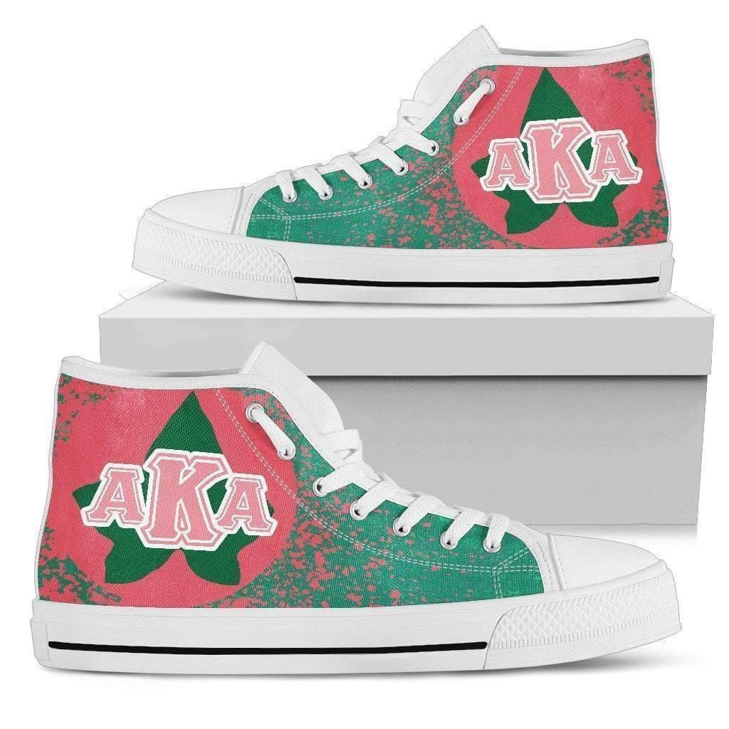 Alpha Kappa Alpha Women's High Top Shoes - Unique Greek Store