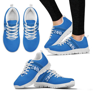 Zeta Phi Beta Greek Emblem Sneakers