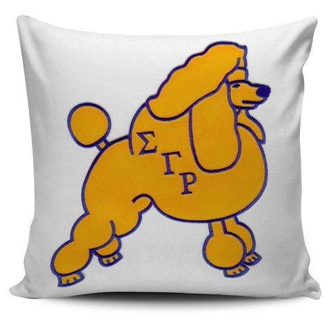 Image of Sigma Gamma Rho Pillow Covers - Unique Greek Store