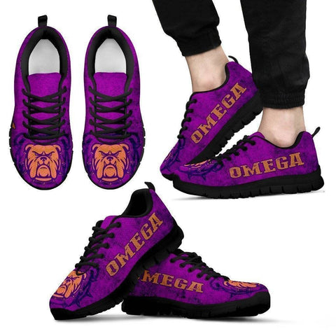 Omega Psi Phi Sneakers - Unique Greek Store