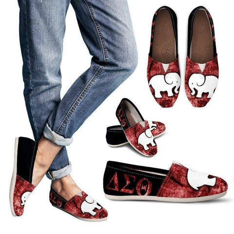 Delta Sigma Theta Toms Shoes - Unique Greek Store