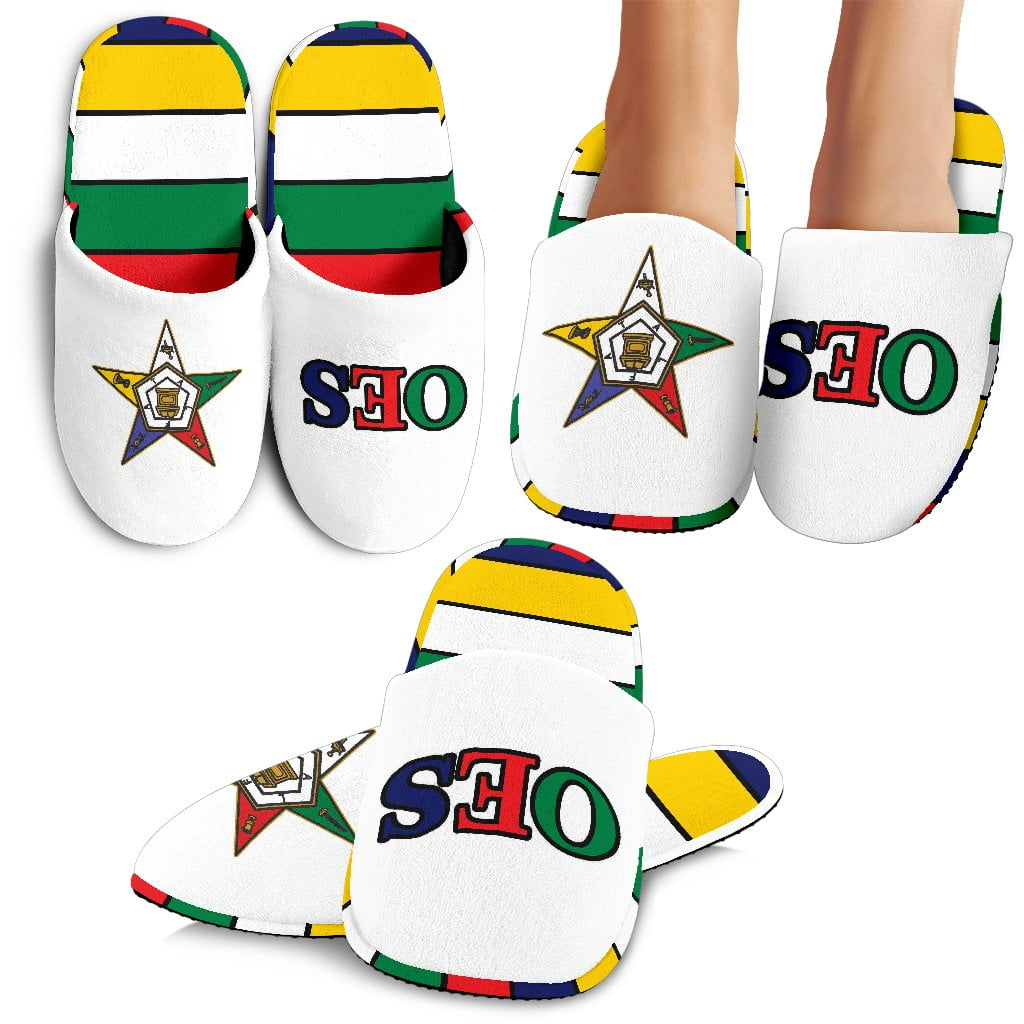 Order of the Eastern Star Bedroom Slippers