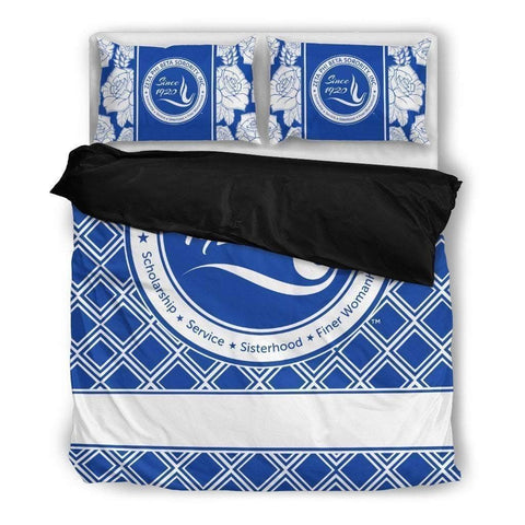 Zeta Phi Beta Bedding Set - Unique Greek Store