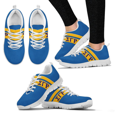 Sigma Gamma Rho Greek Emblem Sneakers