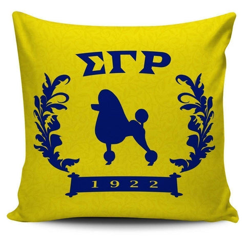 Image of Sigma Gamma Rho Founding Year Pillow Covers - Unique Greek Store