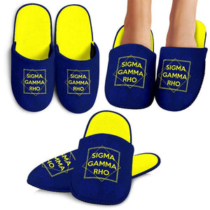 Sigma Gamma Rho Bedroom Slippers