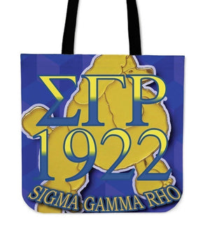 Sigma Gamma Rho Tote Bag - Unique Greek Store