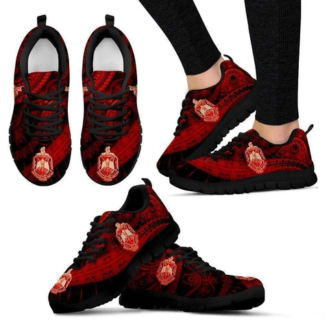 Image of Women's Delta Sigma Theta Runners Shoes - Unique Greek Store