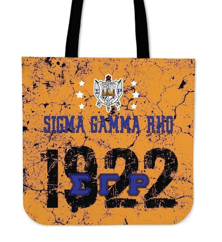 Sigma Gamma Rho Founding Year Tote Bags - Unique Greek Store
