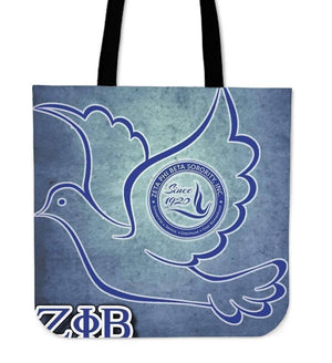 Zeta Phi Beta Tote Bag - Unique Greek Store