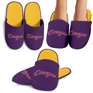 Omega Psi Phi Bedroom Slippers