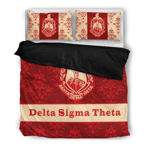Delta Sigma Theta Bedding Set - Unique Greek Store