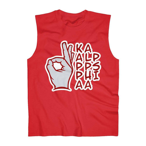Kappa Alpha Psi Sign Tank Top