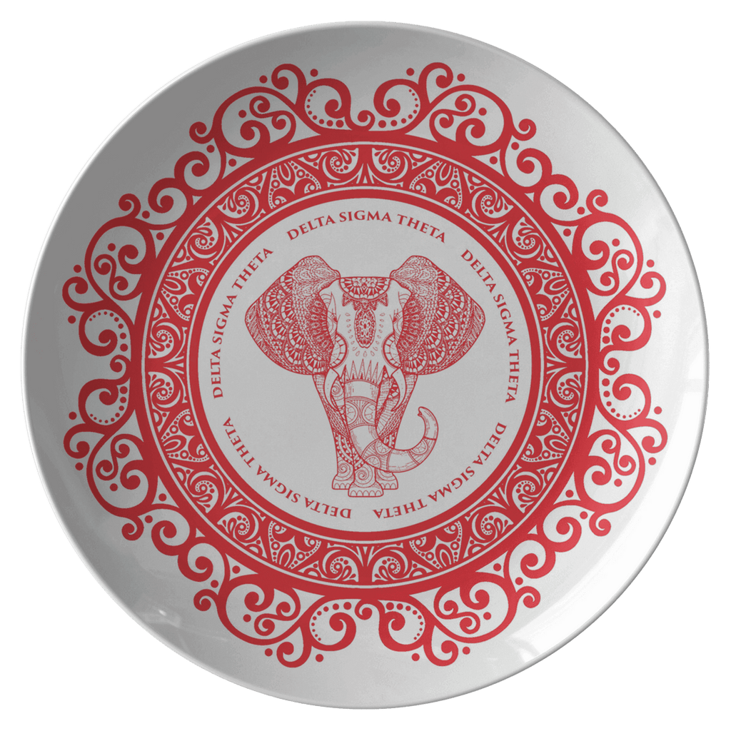 Delta Sigma Theta Plate - Unique Greek Store