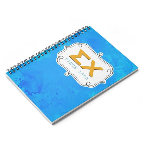 Image of Sigma Chi Spiral Notebook - Unique Greek Store