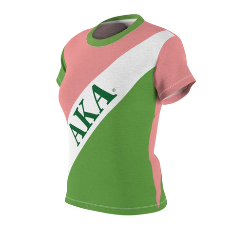 Image of Alpha Kappa Alpha Sorority AOP Tee