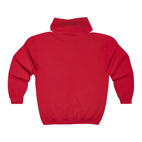 Image of Kappa Alpha Psi Embroidery Zip Up Hoodie
