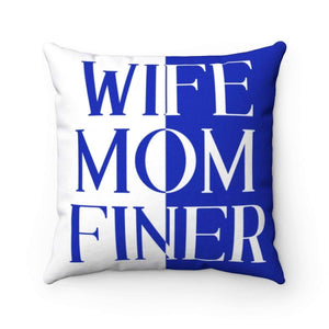 Zeta Phi Beta Wife Mom Finer Pillows