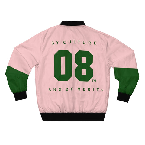 Alpha Kappa Alpha By Culture and By Merit Bomber Jacket