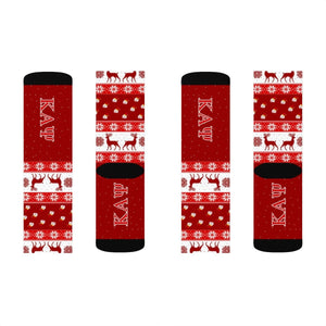 Kappa Alpha Psi Christmas Socks