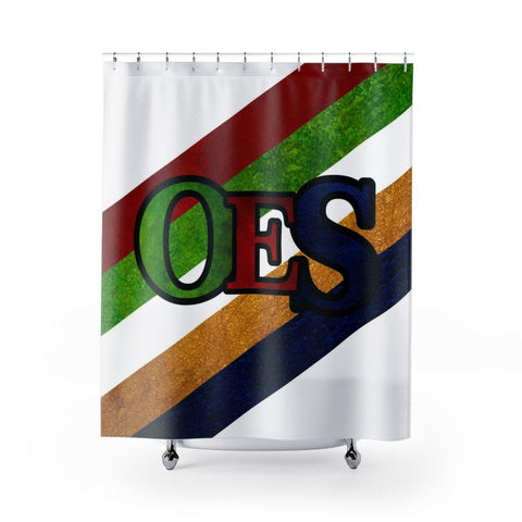 Image of Order of the Eastern Star Shower Curtain